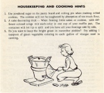 Housekeeping and Cooking Hints